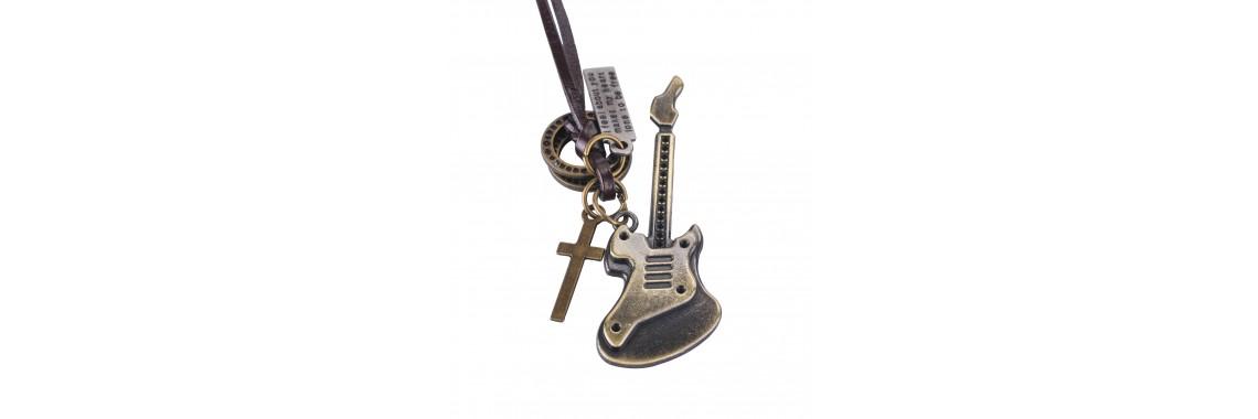 Pandantiv chitara electrica cruce